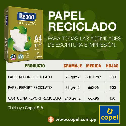 Copel. Papel reciclado Suzano