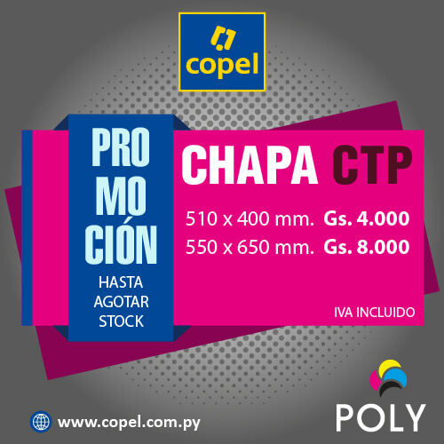 Copel. Promoción chapa CTP